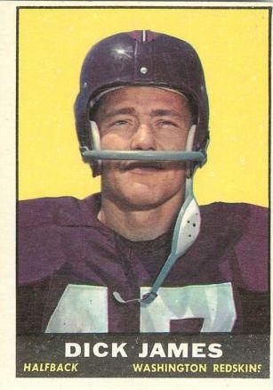 1961 Topps #124 Dick James