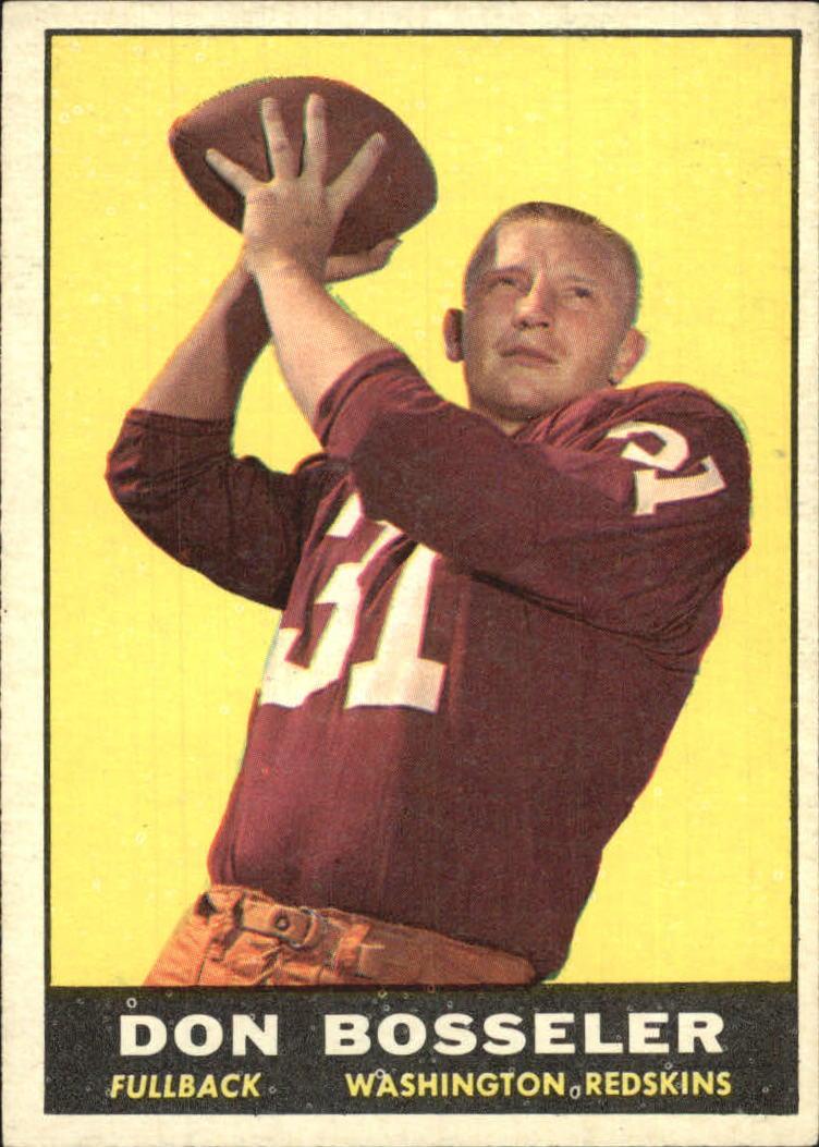 1961 Topps #125 Don Bosseler