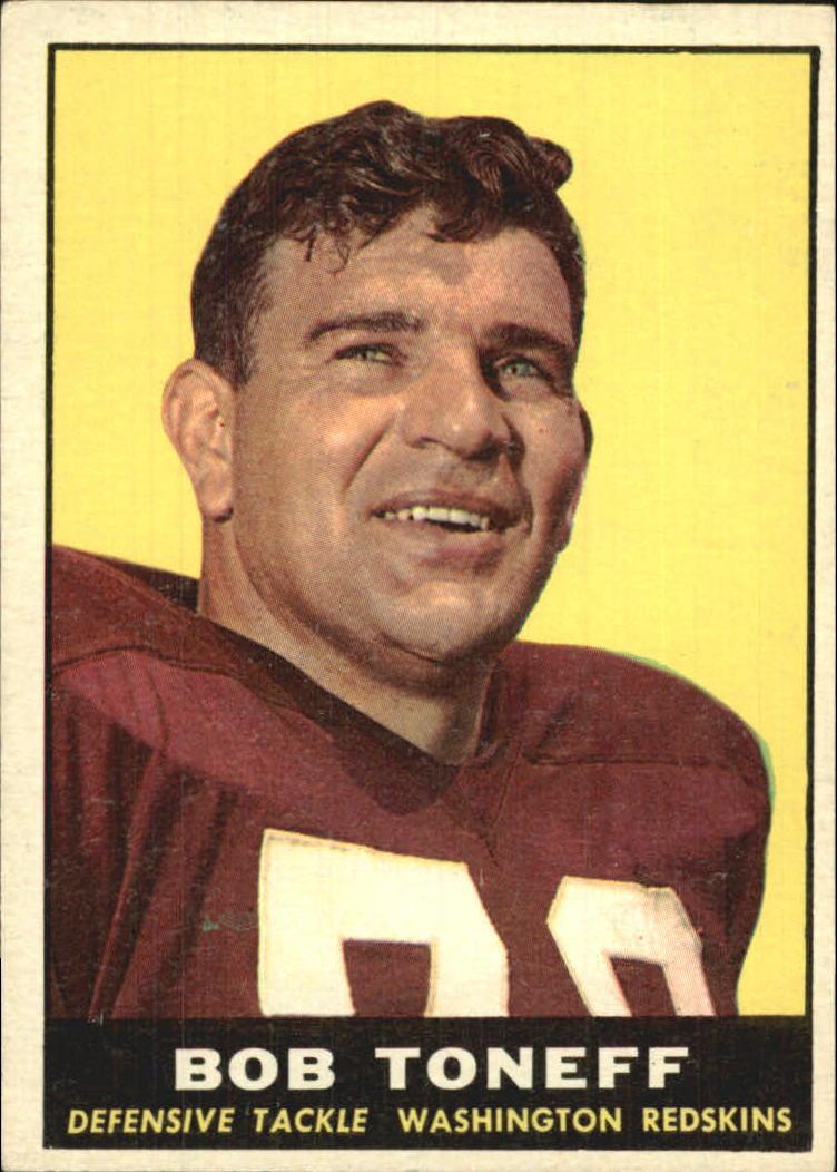 1961 Topps #129 Bob Toneff