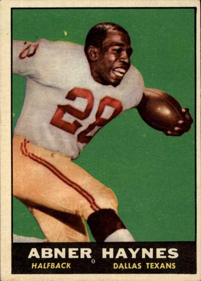 1961 Topps #133 Abner Haynes !