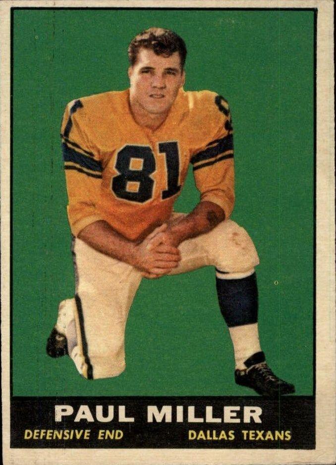 1961 Topps #137 Paul Miller