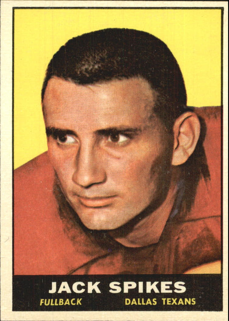 1961 Topps #138 Jack Spikes
