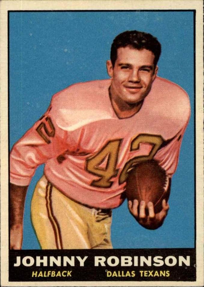 1961 Topps #139 Johnny Robinson RC