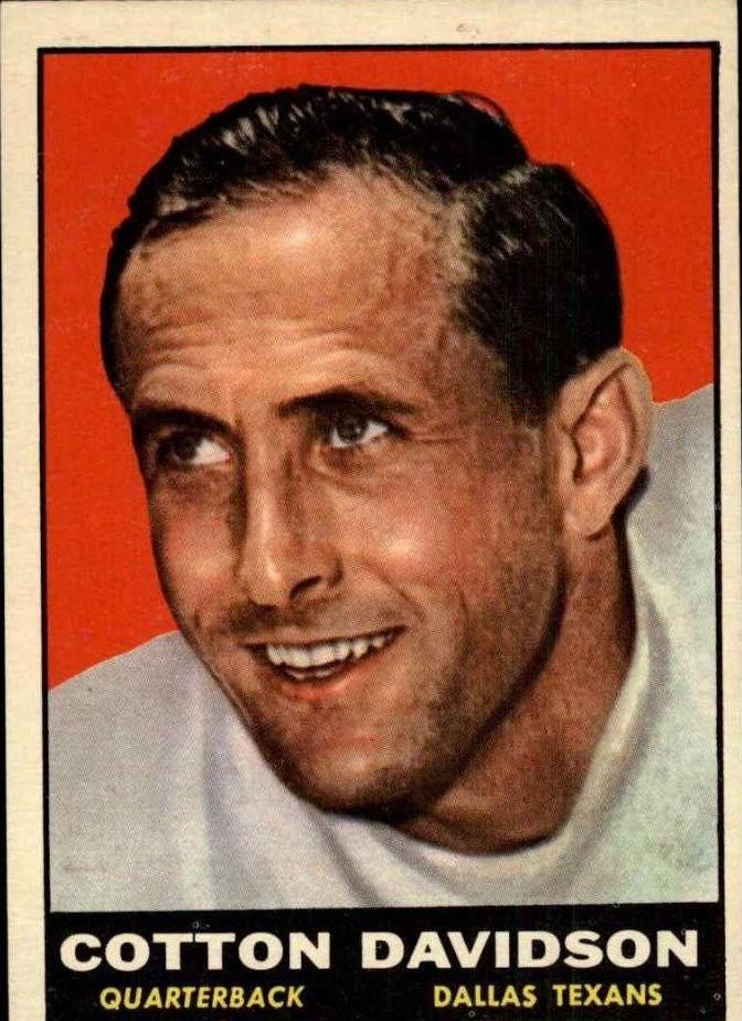 1961 Topps #140 Cotton Davidson RC