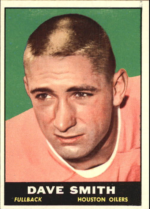 1961 Topps #141 Dave Smith RB