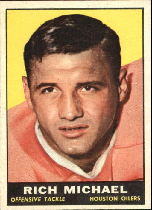 1961 Topps #143 Rich Michael RC