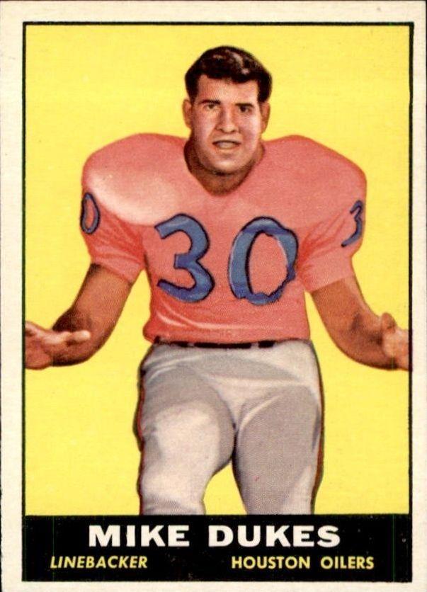 1961 Topps #144 Mike Dukes RC