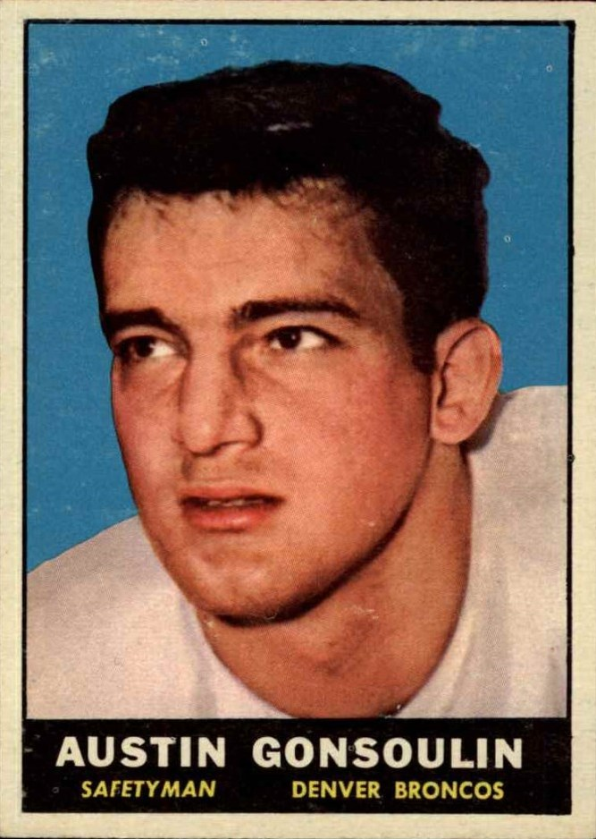 1961 Topps #192 Goose Gonsoulin RC