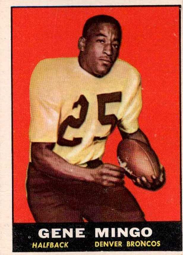 1961 Topps #194 Gene Mingo RC