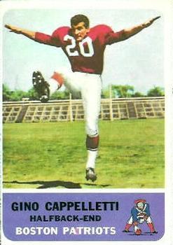 1962 Fleer #3 Gino Cappelletti RC