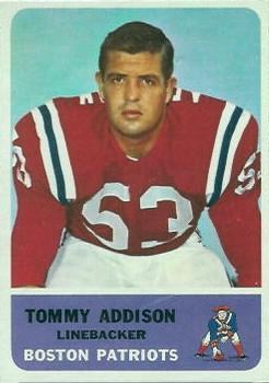1962 Fleer #9 Tommy Addison RC