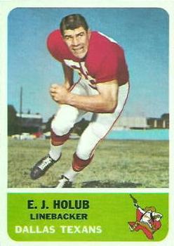 1962 Fleer #30 E.J.Holub RC