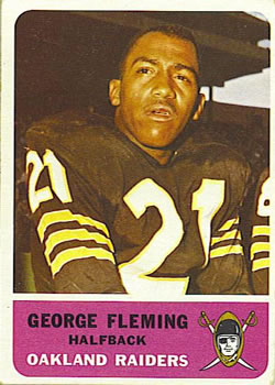 1962 Fleer #70 George Fleming RC