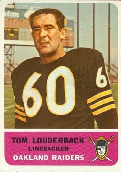 1962 Fleer #75 Tom Louderback RC