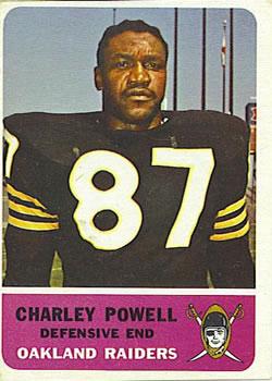 1962 Fleer #77 Charley Powell RC
