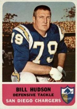 1962 Fleer #85 Bill Hudson RC