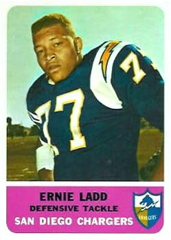 1962 Fleer #86 Ernie Ladd RC