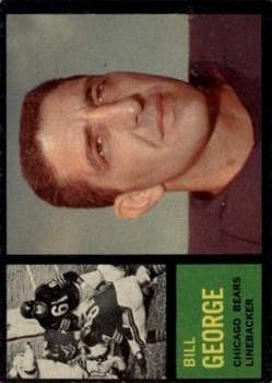 1962 Topps #22 Bill George