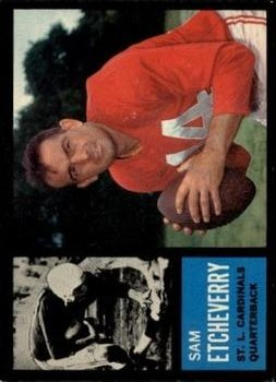 1962 Topps #139 Sam Etcheverry