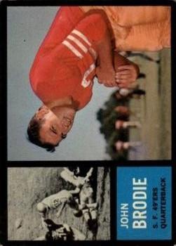 1962 Topps #152 John Brodie