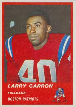 1963 Fleer #1 Larry Garron RC