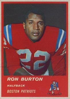 1963 Fleer #3 Ron Burton