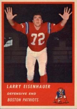 1963 Fleer #11 Larry Eisenhauer RC