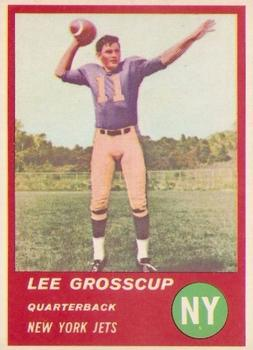 1963 Fleer #13 Lee Grosscup RC