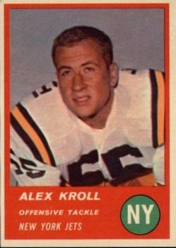 1963 Fleer #16 Alex Kroll RC