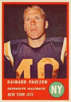1963 Fleer #18 Dainard Paulson RC