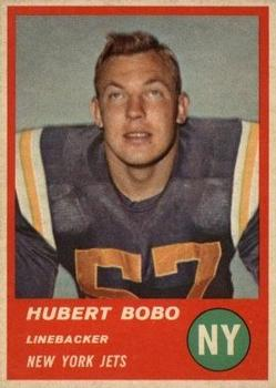 1963 Fleer #21 Hubert Bobo RC