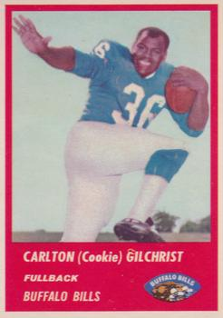 1963 Fleer #23 Cookie Gilchrist RC