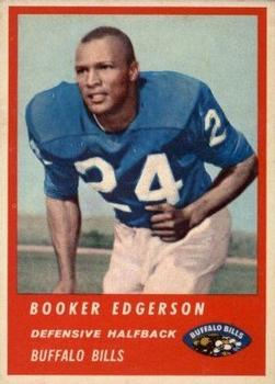 1963 Fleer #30 Booker Edgerson RC