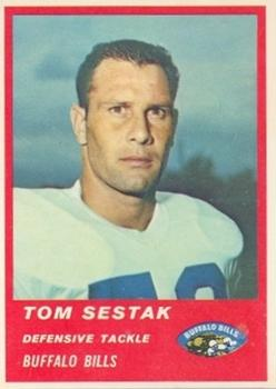 1963 Fleer #33 Tom Sestak RC