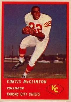 1963 Fleer #45 Curtis McClinton RC