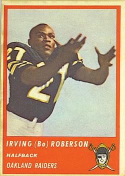 1963 Fleer #58 Bo Roberson RC