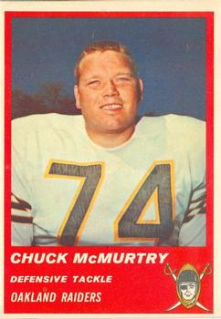 1963 Fleer #66 Chuck McMurtry RC