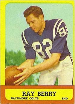 1963 Topps #4 Raymond Berry