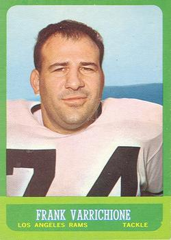 1963 Topps #42 Frank Varrichione