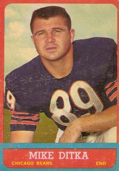 1963 Topps #62 Mike Ditka