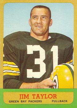 1963 Topps #87 Jim Taylor