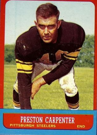 1963 Topps #126 Preston Carpenter SP