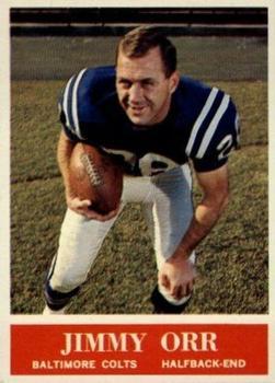 1964 Philadelphia #7 Jimmy Orr