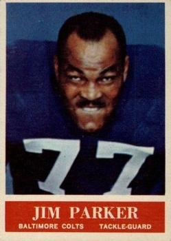 1964 Philadelphia #8 Jim Parker