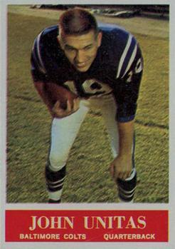 1964 Philadelphia #12 Johnny Unitas