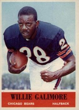 1964 Philadelphia #19 Willie Galimore