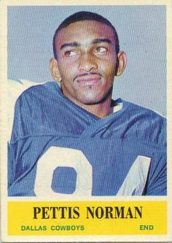 1964 Philadelphia #52 Pettis Norman RC