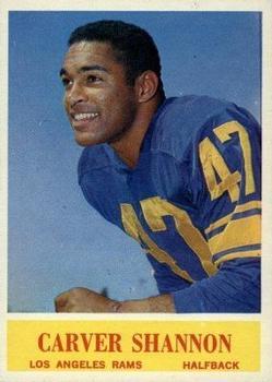 1964 Philadelphia #94 Carver Shannon RC