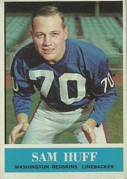 1964 Philadelphia #185 Sam Huff