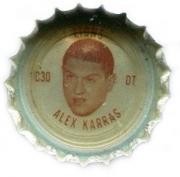 1965 Coke Caps Lions #C30 Alex Karras